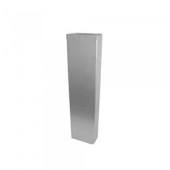 Труба квадратная 230*115-1мм 1000мм Н (304)