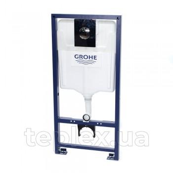 Инсталляция GROHE Rapid SL с круглой кнопкой