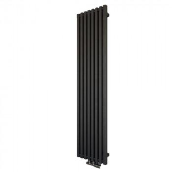 Дизайн - радиатор SORBONE 1560*390 черный бархат