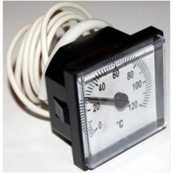 Термометр капиллярный 48х48 120 С*