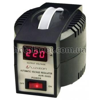 Стабилизатор Luxeon 0.5 кВт 1-исх (малый) электрон