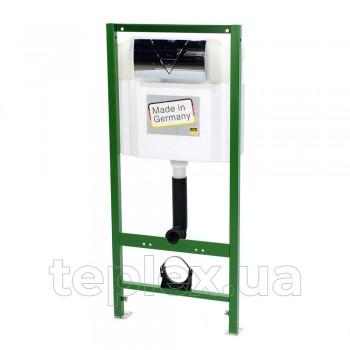 Инсталляционная VIEGA Eco Standart 673192 с кнопкой хром 721893