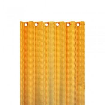 Шторка на ванну 3D оранжевые 3D-O