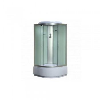 Гидробокс INA H90F 90*90*40*215 сатин смеситель+сифон+верх+лейка
