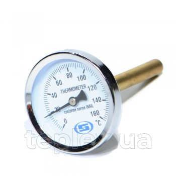 Термометр Gross длинный 100мм 160 С