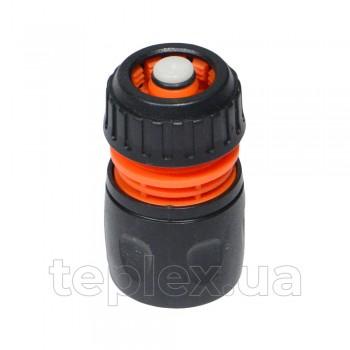 Коннектор к шлангу 1/2 с функцией стоп Aquapulse АР 1003