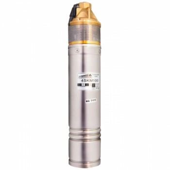 Глубинный насос EUROAQUA 4SKM 150 со встроенным конденсатором