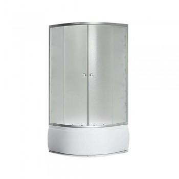 Гидробокс SANSA рама сатин стекло фабрик без форсунок 900*900*400*2150мм