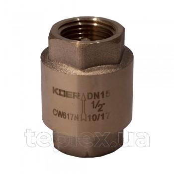 Клапан обратный 15 мм KOER