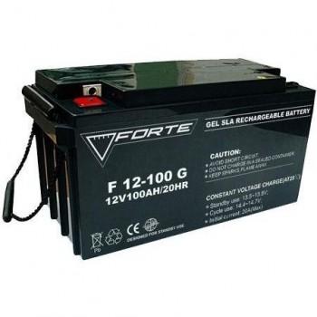 Аккумулятор Forte F12-100 Gel