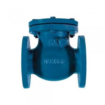 C201, Обратный клапан двустворчатый межфланцевый чугунный, Ду 80 /створки-чугун GGG40/EPDM/ РN16