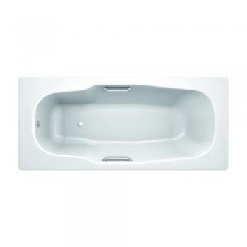 Ванна стальная эмалированная KOLLER POOL ATLANTICA anti-slip 180*80*3.5 мм