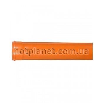 Труба 160/3.2 - 1000 (Оранжевая)